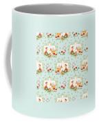 Woodland Fairy Tale - Sweet Animals Fox Deer Rabbit Owl - Half Drop Repeat Coffee Mug