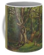 Woodland Scene With Rabbits Coffee Mug