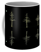 Woodlands Waterway 3 Trees Coffee Mug