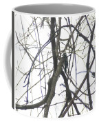 Woodpecker In The Forest Coffee Mug