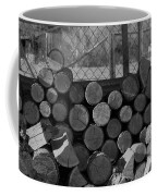 Woodpile Coffee Mug