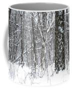 Woods In Winter Coffee Mug