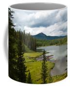 Wood's Lake Summer Landscape Coffee Mug