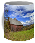 Woodstock Vermont Old Red Barn In Autunm Coffee Mug