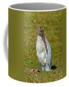 Woodstork On The Lookout Coffee Mug