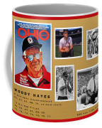 Woody Hayes Legen Five Panel Coffee Mug