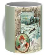 Woolson Spice Company Christmas Card Coffee Mug