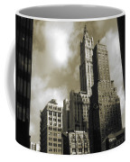 Old New York Photo - Historic Woolworth Building Coffee Mug