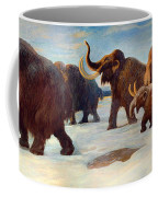 Wooly Mammoths Near The Somme River Coffee Mug