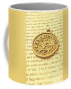 Word Art Of Sagittarius Coffee Mug
