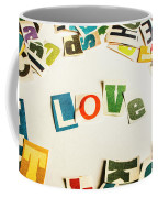 Word Of Love Coffee Mug