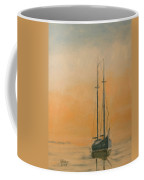 Work Boat At Rest Coffee Mug