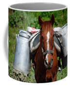 Work Horse At The Azores Coffee Mug by Gaspar Avila