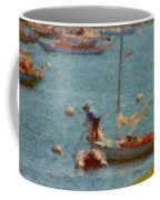 Work These Sails Honey Boothbay Harbor Maine Coffee Mug