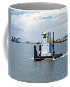 Workboat At Port Canaveral In Florida Coffee Mug