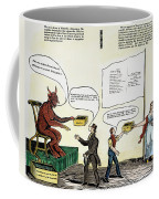 Workie Cartoon, 1829 Coffee Mug