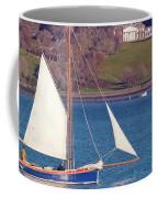 Working Boat At Trelissick Cornwall Coffee Mug