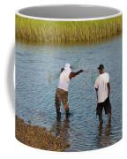 Working The Creeks Coffee Mug