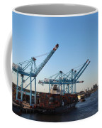 Working The Port Of New Orleans Coffee Mug