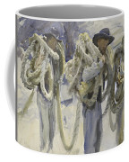 Workmen At Carrara Coffee Mug