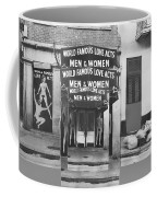 World Famous Love Acts French Quarter New Orleans Louisiana 1976-2012 Coffee Mug