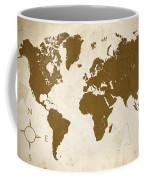 World Grunge Coffee Mug