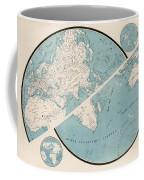 World Map - 1857 Coffee Mug