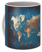World Map 2065 Coffee Mug