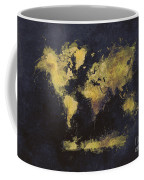 World Map Art 65 Coffee Mug