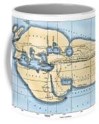 World Map: Eratosthenes Coffee Mug