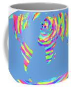World Map Radial Eurocentric Coffee Mug