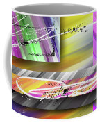 World Of Color And Superimposed Rectangles Coffee Mug