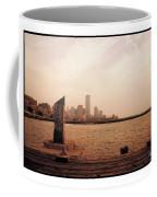 world Trade Center From Pier Coffee Mug