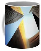 World Trade Center Towers And The Ideogram 1971-2001 Coffee Mug