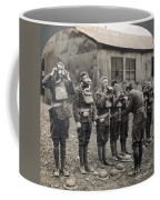 World War I: Gas Masks Coffee Mug
