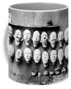 World War I Masks, 1918 - To License For Professional Use Visit Granger.com Coffee Mug