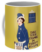 World War I: Thrift Stamps Coffee Mug
