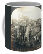 World War I: Verdun Ruins Coffee Mug