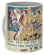 World War I Ywca Poster  Coffee Mug