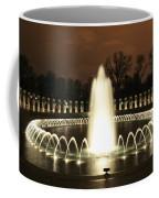 World War II Memorial At Night Coffee Mug