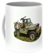 World War Two - Willys - Army Jeep  Coffee Mug