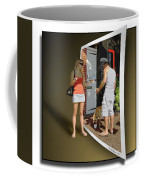 Worlds Apart Coffee Mug by Brian Wallace