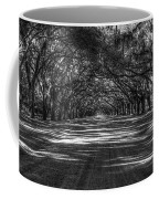 Wormsloe Plantation 2 Live Oak Avenue Art Coffee Mug