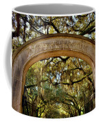 Wormsloe Plantation Isle Of Hope Ga Coffee Mug