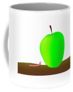 Worn And Apple Coffee Mug