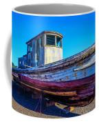 Worn Weathered Boat Coffee Mug
