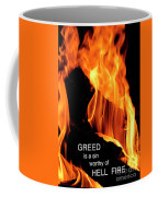 worthy of HELL fire Coffee Mug