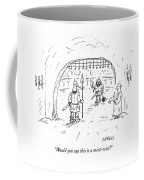 Would You Say This Is A Must Win Coffee Mug