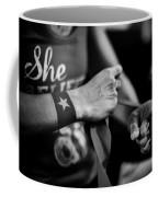 Wrapping Hands Coffee Mug