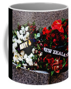 Wreaths From New Zealand And Our Navy Coffee Mug
